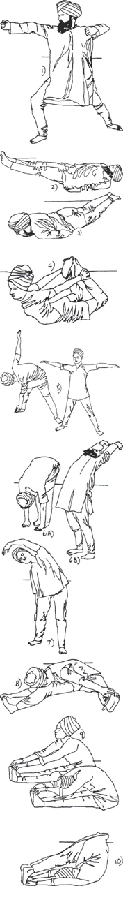 Flexibilite de la colonne vertebrale (1)