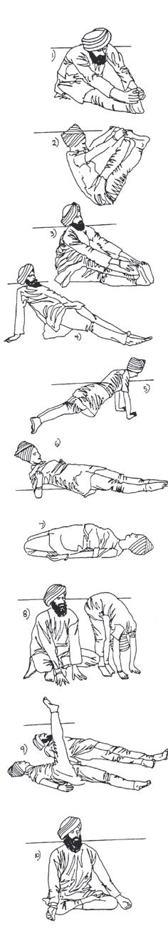 Kriya pour renforcer les nerfs le ventre et le bas du dos