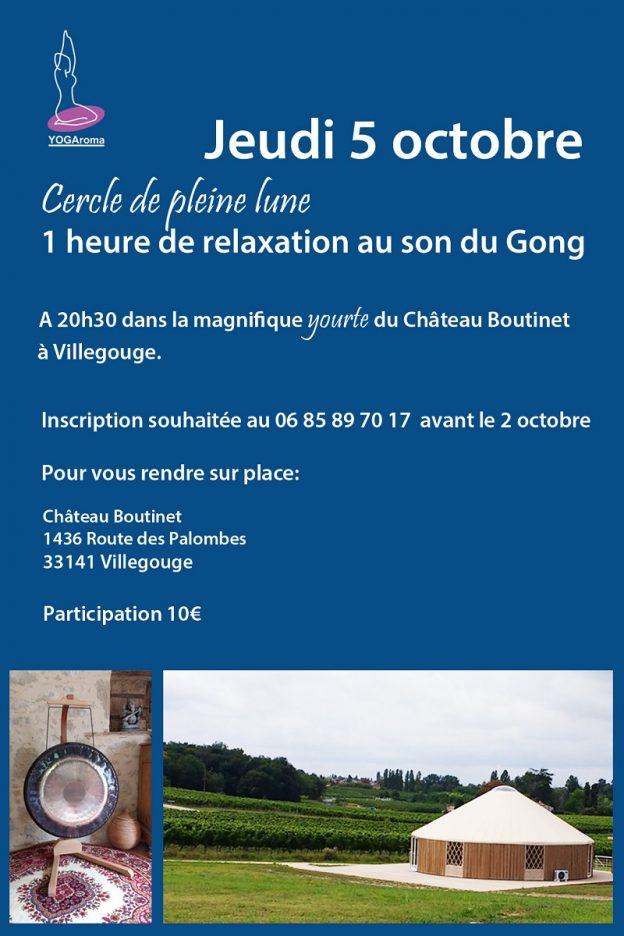 Relaxation au gong pour la pleine lune du 5 octobre - Date pleine lune octobre 2017 ...