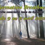Formation Breathwalk (marche consciente selon les enseignements de Yogi Bhajan)