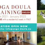 Yoga Doula Training in english 2021 - 2022