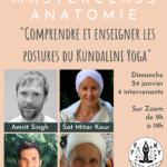 Journée Masterclass Online ·Posture & Anatomie du Kundalini Yoga
