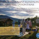 Formation Enseignant KY Niveau 1 - La Fontaine - 2020