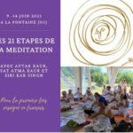 Les 21 étapes de la méditation