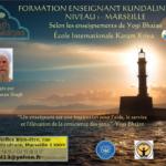 Formation Enseignant KY Niveau 1 - Marseille 2021/2022
