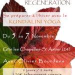 Stage d'Automne : se préparer à l'Hiver avec le Kundalini Yoga